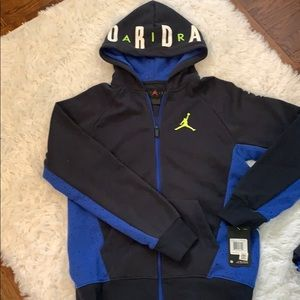 Nike air Jordan zip up sweatshirt